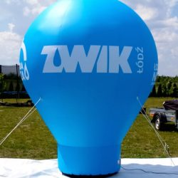 Balon-reklamowy_kropla_3m_ZWiK - producent dmuchańców reklamowych Clevair