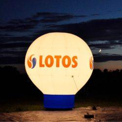 Balon-reklamowy_podswietlenie_Lotos