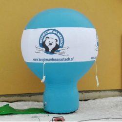 Balon reklamowy taliowany 3m_BNN - producent dmuchańców reklamowych Clevair
