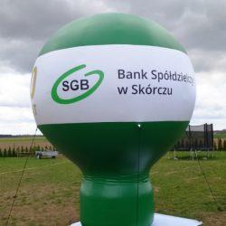 Balon reklamowy taliowany 4m_BS w Skorczu - producent dmuchańców reklamowych Clevair