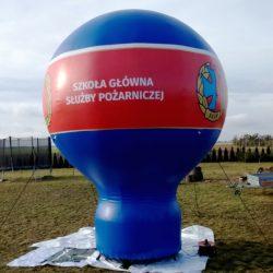 Balon reklamowy taliowany 4m_SGSP - producent dmuchańców reklamowych Clevair