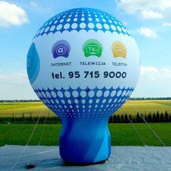 Balon reklamowy taliowany 6m_E-CHO - producent dmuchańców reklamowych Clevair