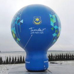 Balon reklamowy taliowany 6m_Tarnow - producent reklam dmuchanych Clevair