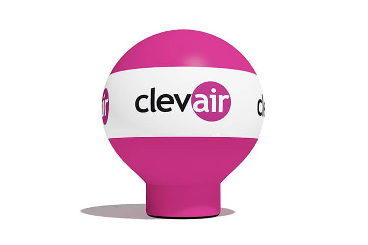 balon_reklamowy_prosty - producent dmuchańców reklamowych Clevair
