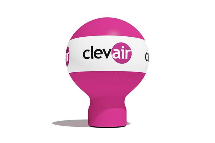 balon reklamowy taliowany - producent dmuchańców reklamowych Clevair