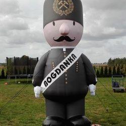 Figura dmuchana Górnik 4m Bogdanka