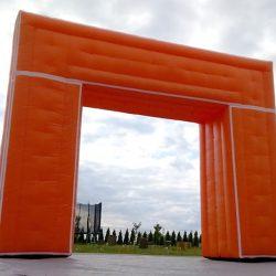 Brama reklamowa kwadratowa 3x3m Triathlon