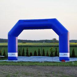 Brama reklamowa 5x3m Domtel