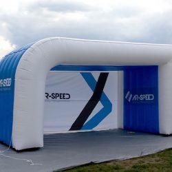 Namiot reklamowy asymetryczny asymetryczny 5x3m Arspeed