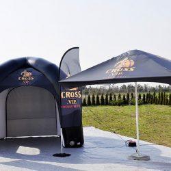 Namiot reklamowy parasol reklamowy flagi