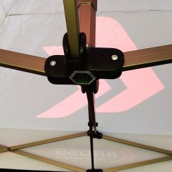 Namiot stelażowy 3x3m detal