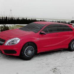 Samochód dmuchany 4m Mercedes