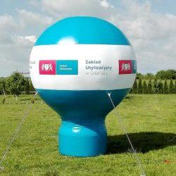 Balon reklamowy taliowany 3m ZUGdansk