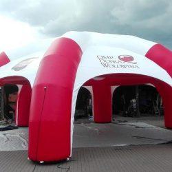 Namiot reklamowy 10m PZPBM - producent dmuchańców reklamowych Clevair