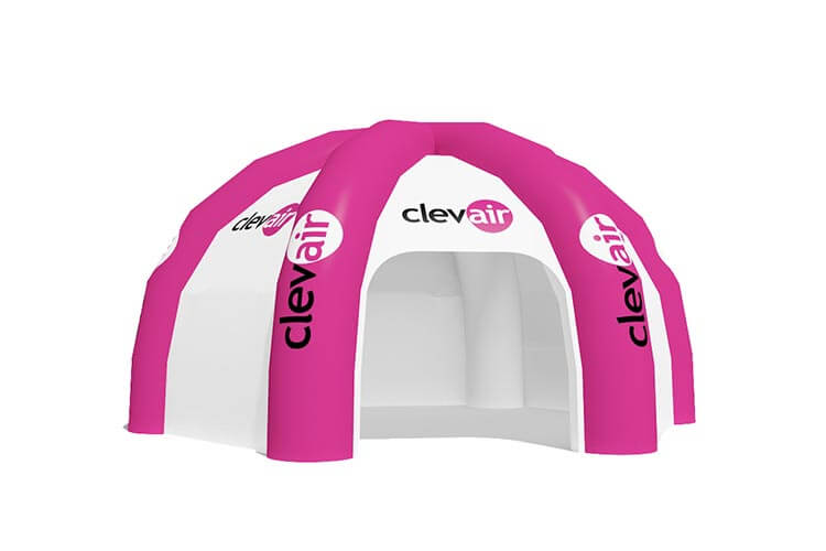 namiot pająk 6n - producent dmuchańców reklamowych Clevair