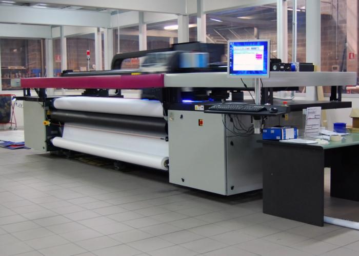 Druk wielkoformatowy - Druk na drukarkach lateksowych