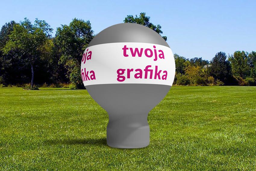 Wynajem Balon taliowany 4m 1 - Producent dmuchańców Clevair