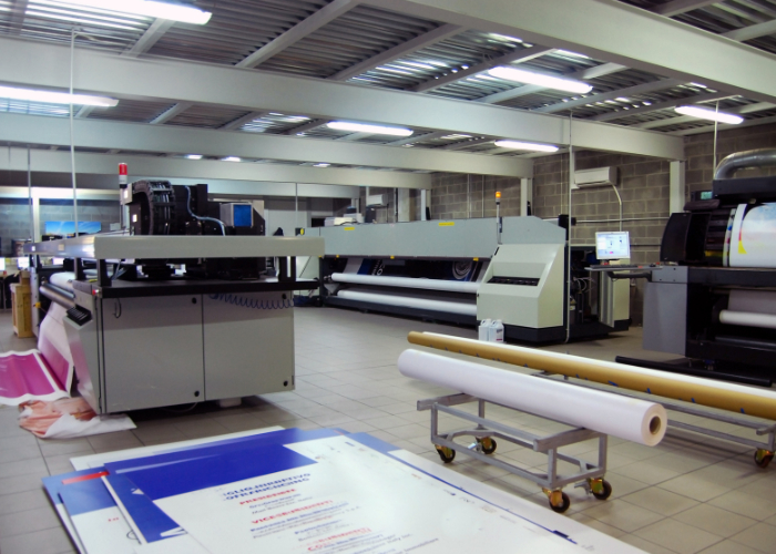 Druk na drukarkach lateksowych - Druk wielkoformatowy