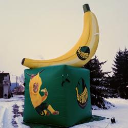 banan na postawie