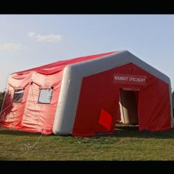 namiot dmuchany specjalistyczny